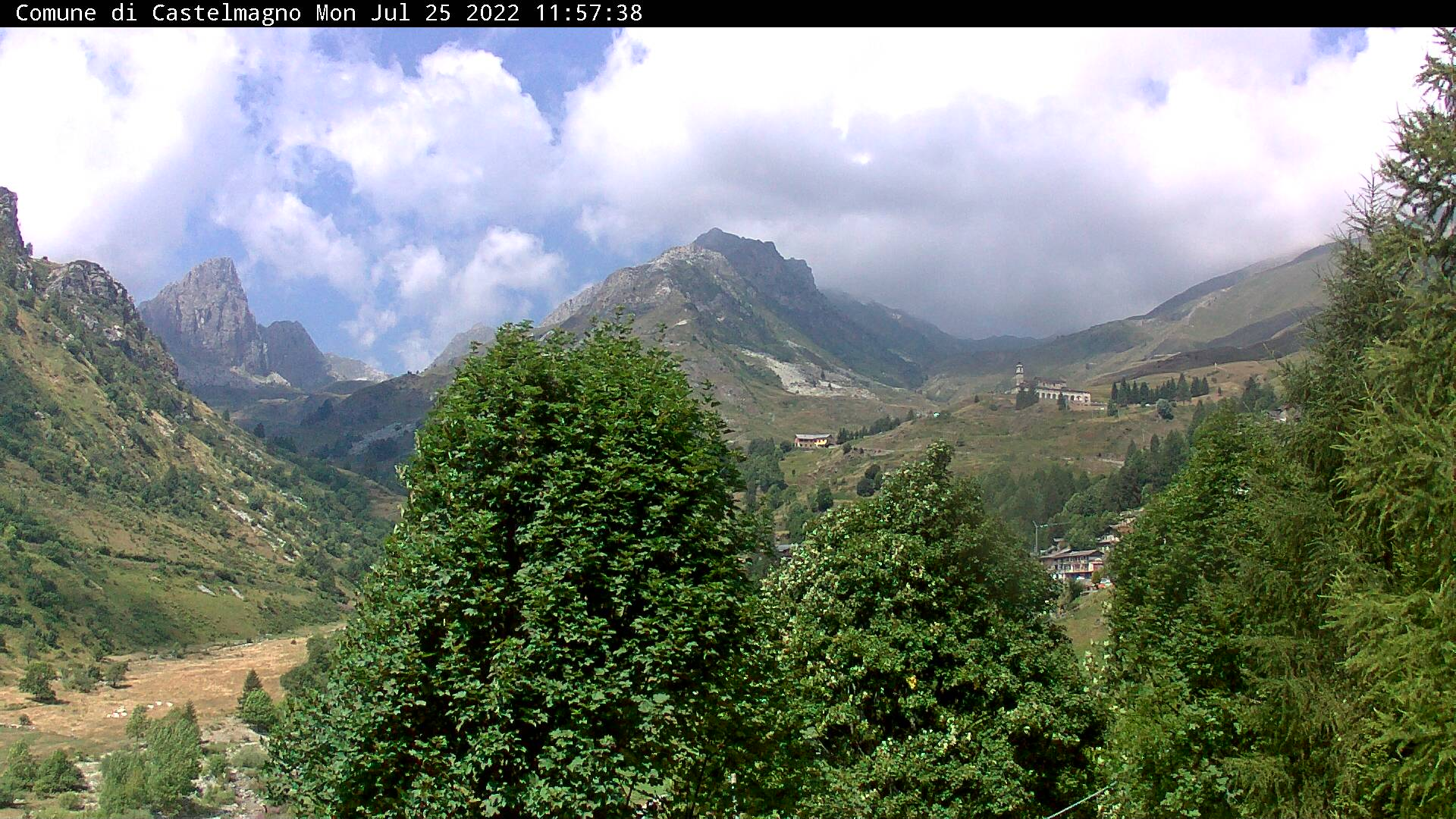 Webcam su Castelmagno
